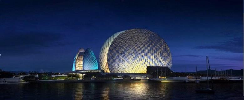 融合来自全球的建筑设计师、供应商等众多资源